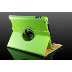 Grøn læder til cover iPad 2, iPad 3, iPad 4