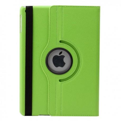 Grøn læder cover til iPad Air