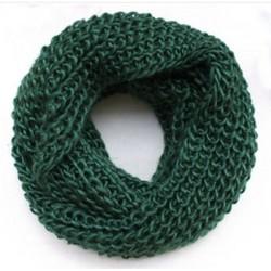Tubetørklæde i grøn