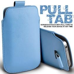 Lys blå Pull Tab cover til Iphone