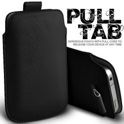 Sort Pull Tab cover til Iphone
