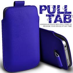 Blå Pull Tab cover til Iphone