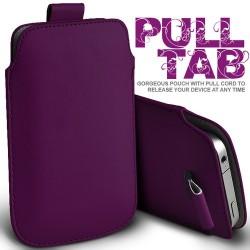 Mørk lilla Pull Tab cover til Iphone