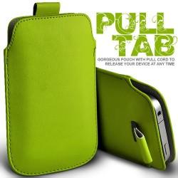 Grøn Pull Tab cover til Iphone