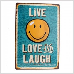 Live, Love and Laugh