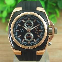 V6 Guld - herre ur
