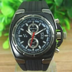 V6 Sort - herre ur