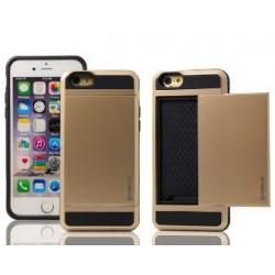 Guld cover med plads til kreditkort