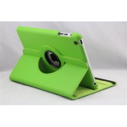 Grøn læder cover til iPad Mini 4