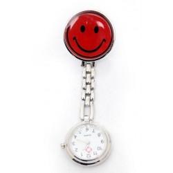 Sygeplejerske ur med rød smiley
