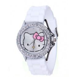 Hello Kitty ur i hvid med similisten