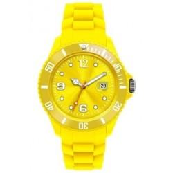 Flot gul ur med datovisning