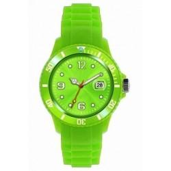 Flot grøn ur med datovisning