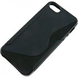 TPU cover til iPhone 5- sort
