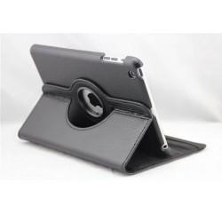 Sort læder cover til iPad Mini