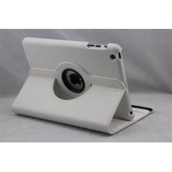 Lækkert hvid læder cover iPad Mini