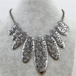 Statement halskæde i sølv