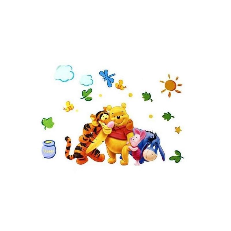 peter plys winnie the pooh wallsticker trendseller dk