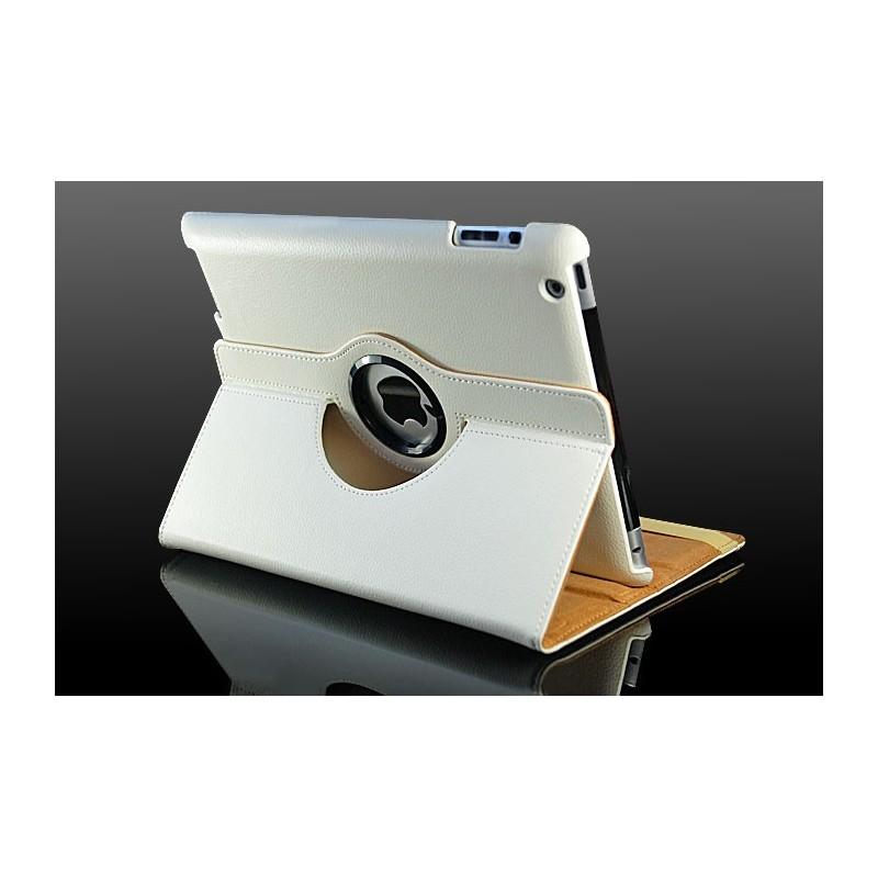 928317a6d8e Hvid læder cover til iPad 2, iPad 3, iPad 4 - Trendseller.dk
