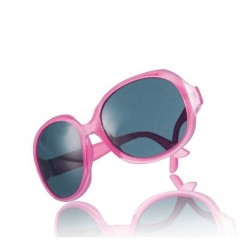 Pink solbriller med stort look
