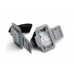 Løbearmbånd til iPhone 5/5S/SE - Grå