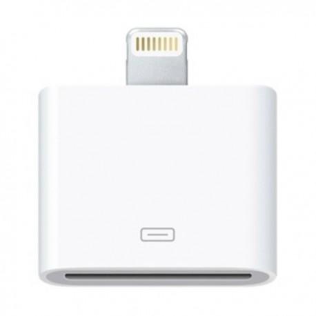 Hvid mini billader til iPhone