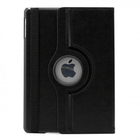 Sort læder cover til iPad Air