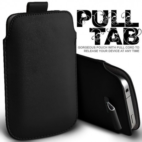 Sort Pull Tab cover til Iphone