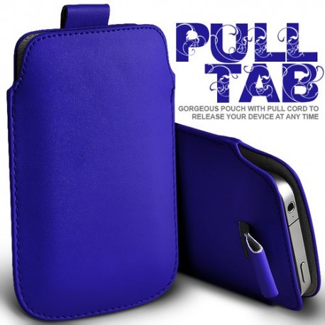 Blå Pull Tab cover til Iphone