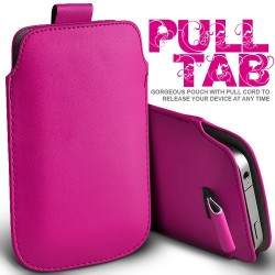 Pink Pull Tab cover til Iphone 5