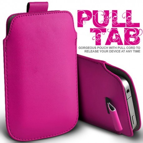 Pink Pull Tab cover til Iphone
