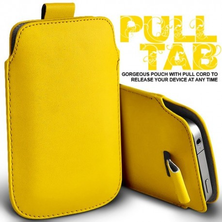 Gul Pull Tab cover til Iphone