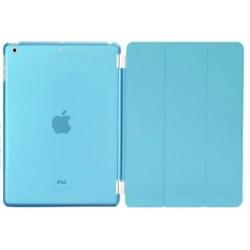 blå iPad Air crystal cover front og bagside