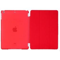 Rød iPad Air crystal cover front og bagside