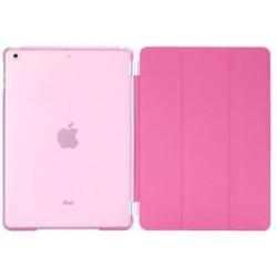 pink iPad Air crystal cover front og bagside