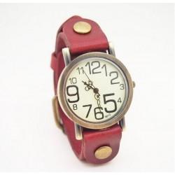 Vintage ur - rød