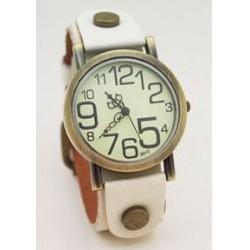 Vintage ur - hvid