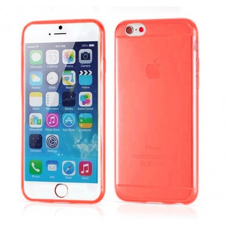 iPhone 6 Slim cover - Rød