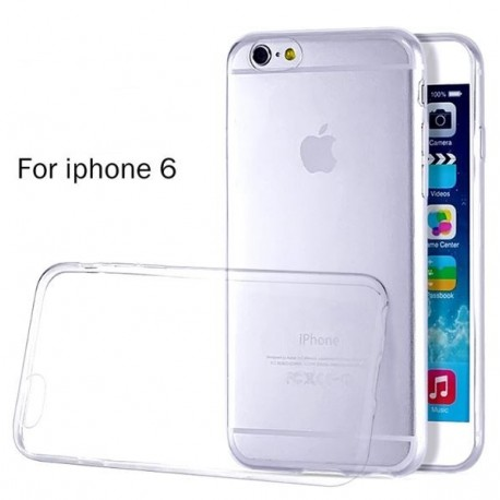 iPhone 6 Slim cover - Transparant gummi