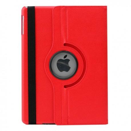 Rød læder cover til iPad Air
