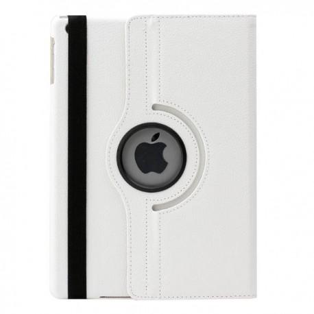 Hvid læder cover til iPad Air