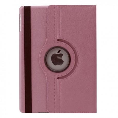 Lyserød læder cover til iPad Air