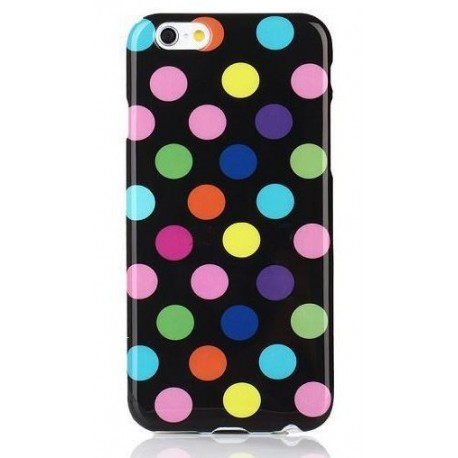 iPhone 6 Plus Polka prikker - Farvet