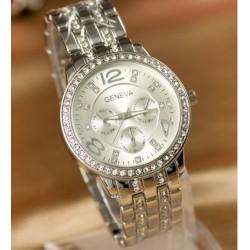 Geneva sølv ur med similisten