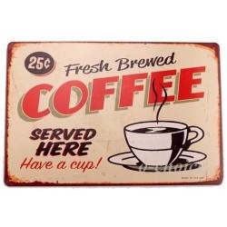 Fresh Brewed coffee -brun