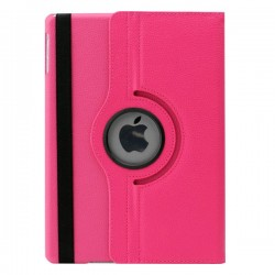 Pink læder cover til iPad Air
