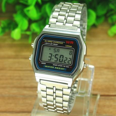 Retro ur - sølv