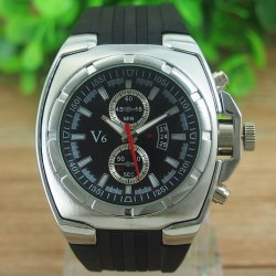 V6 Sølv - herre ur