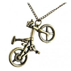 Halskæde med cykel