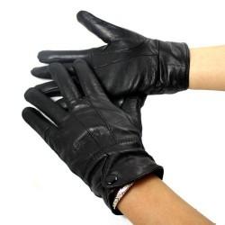 Fåreskinds læderhandsker